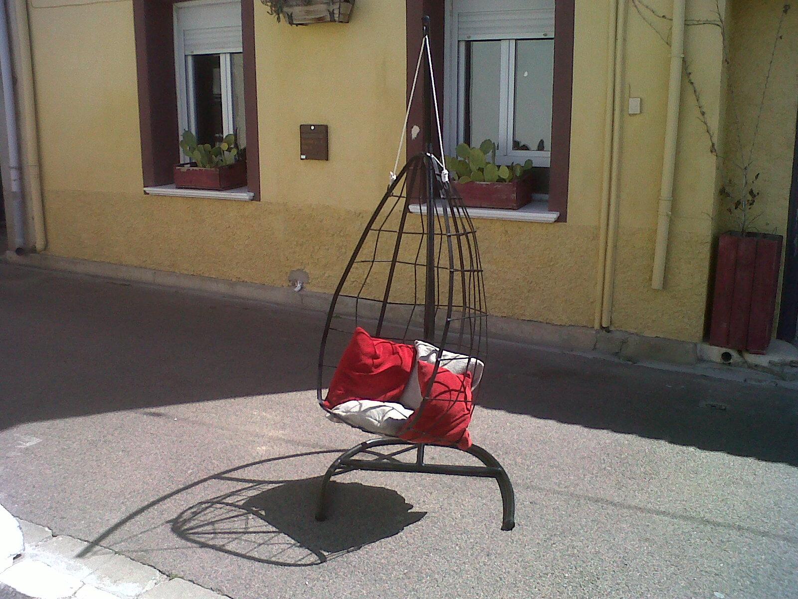Mobilier de jardin - Oeuf suspendu jardin ...